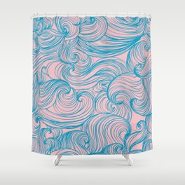 Free Flow V 2 Shower Curtain