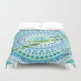 Bermuda Mandala Duvet Cover