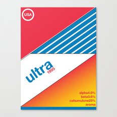 ultra//single hop Canvas Print