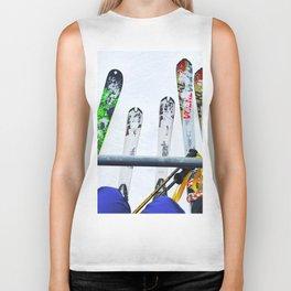 Ski All Day Biker Tank