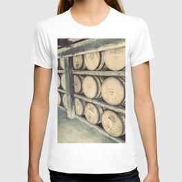 Kentucky Bourbon Barrels Color Photo T-shirt