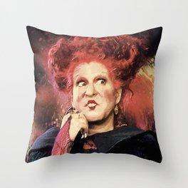 Winifred Sanderson Throw Pillow