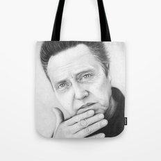 Christopher Walken Portrait Tote Bag