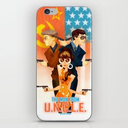 THE MAN FROM UNCLE iPhone Skin