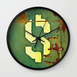 Big Bucks Wall Clock