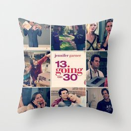 13 going on 30 Throw Pillow