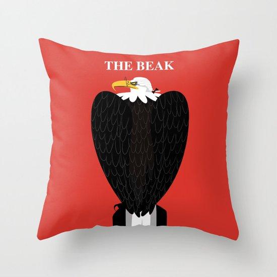 The Beak Throw Pillow