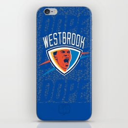 Russell Westbrook iPhone Skin