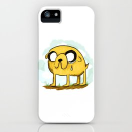 Teary Jake iPhone Case
