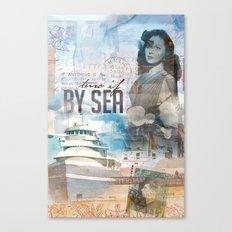 By Sea Canvas Print