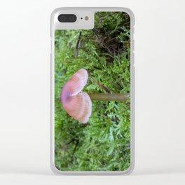 Split Fungi Clear iPhone Case