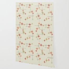 Mid Century Modern Stars Wallpaper