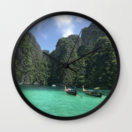 Phi Phi Islands Wall Clock