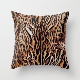 Tiger Power Throw Pillow