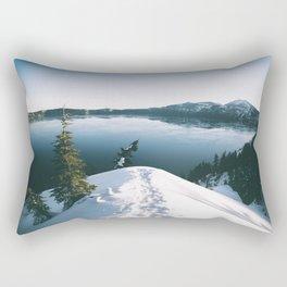 To The Lake Rectangular Pillow