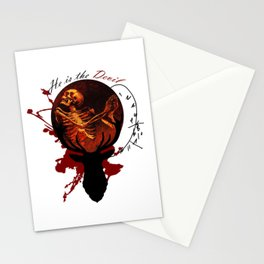 He is the Devil Stationery Cards