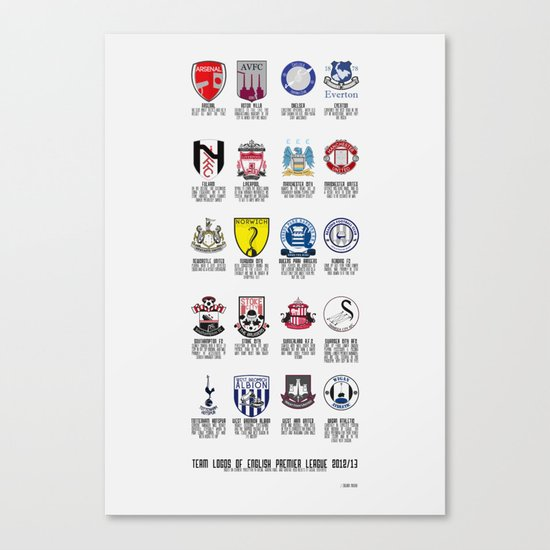 Alternate Football Teams Canvas Print