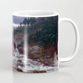 Johan Christian Dahl The Lower Falls of Labrofoss Coffee Mug