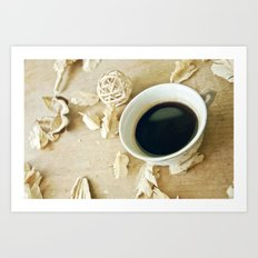 Coffee Time 4 Art Print