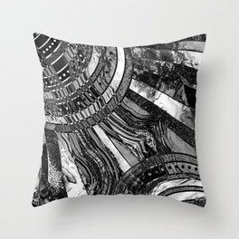BW sunkissed Throw Pillow