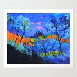 magic forest 108 Art Print