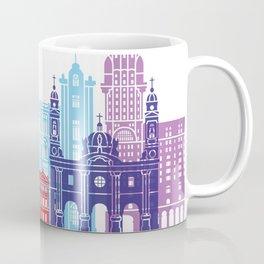 Montevideo skyline pop Coffee Mug