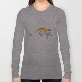 Drunk Fox Long Sleeve T-shirt