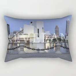 Cleve-Land-Scape Rectangular Pillow