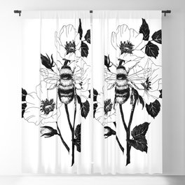 Save the bees Blackout Curtain