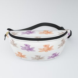 colorful flowers pattern Fanny Pack
