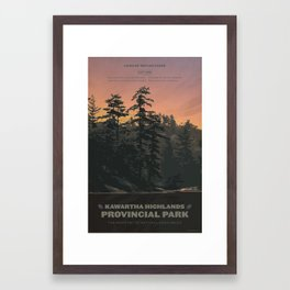 Kawartha Highlands Provincial Park Framed Art Print