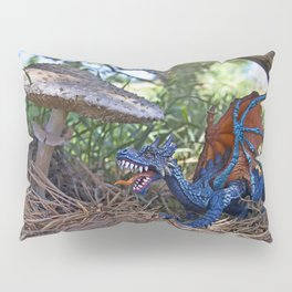 Dragon Sighting Pillow Sham