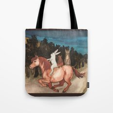 The Singing Cat Tote Bag