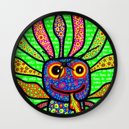 Mexicanitos al grito - Alexbrijin Wall Clock