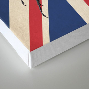 Meet the Beetles (Union Jack Option) Canvas Print