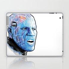 Electro Portrait drawing Laptop & iPad Skin