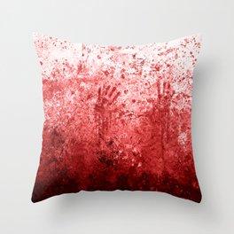 Bloody Abattoir Wall Throw Pillow