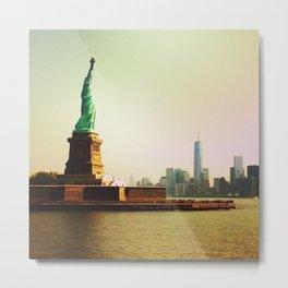 Freedom & Liberty Metal Print