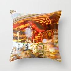 Fleeting Throw Pillow