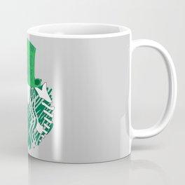 Starbucks 'We're All Mad Here' Coffee Mug
