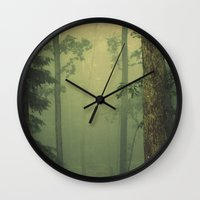 thrones Wall Clocks featuring A Place Only We Know by S. Ellen