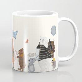 lets all go exploring Coffee Mug