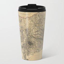 Map Of Azerbaijan 1855 Travel Mug