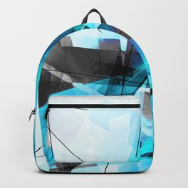 Shiver - Geometric Abstract Art Backpack