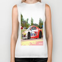 audi Biker Tanks featuring Flying Lizard Audi R8 | Road America by Phil Schroeder Design