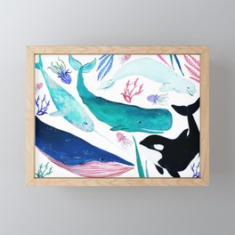Under the Sea Framed Mini Art Print