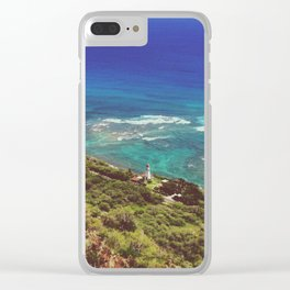 Top Of The Diamond Head Clear iPhone Case