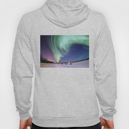 Northern Lights of Alaska Photograph Hoody