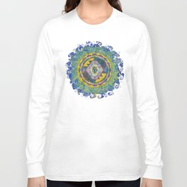 Dynama Sri Yantra Long Sleeve T-shirt