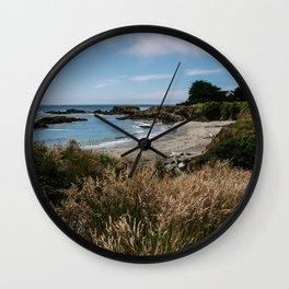 Sea Ranch Beach Printable Wall Art | California Nature Ocean Coastal Travel Photography Print Wall Clock